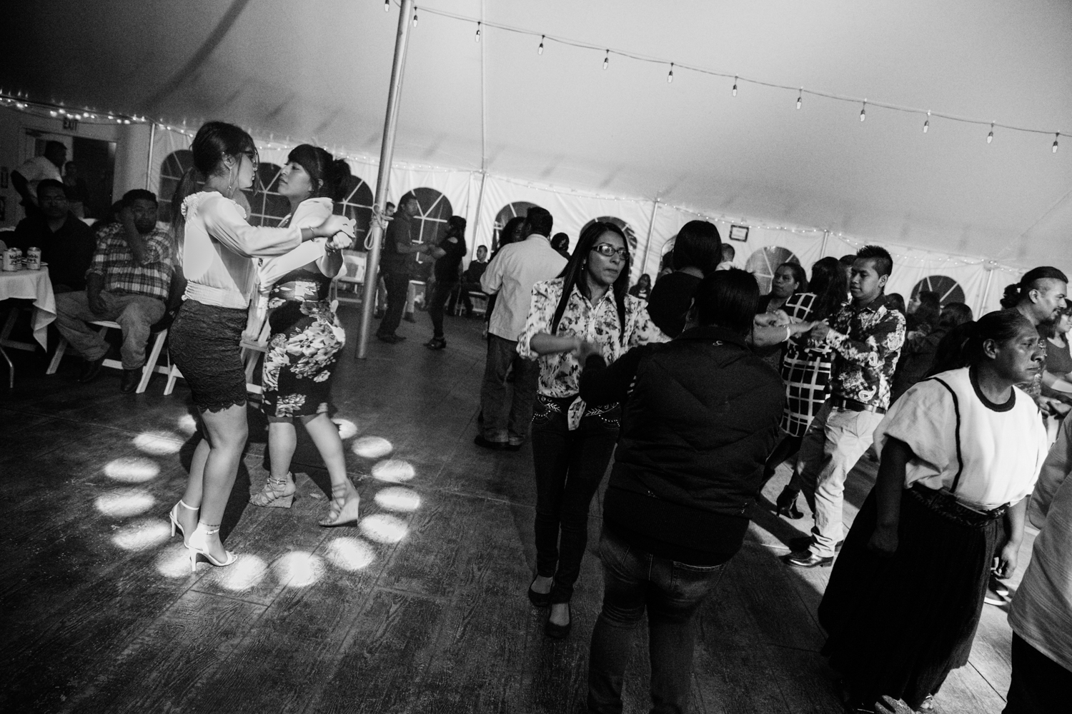 Fiestas continue as a way for the immigrant community to reunite as regularly as possible. Milwaukee, Wisconsin, USA.